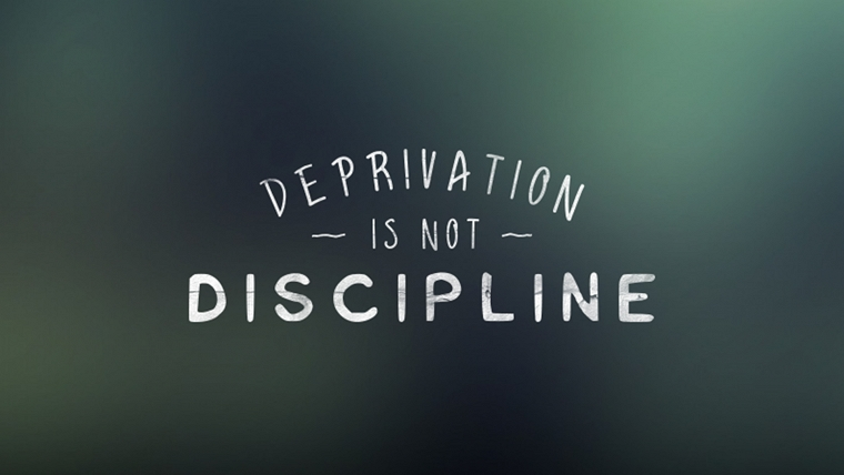 Deprivation is not discipline yoga international Channel 7 better homes and gardens recipes