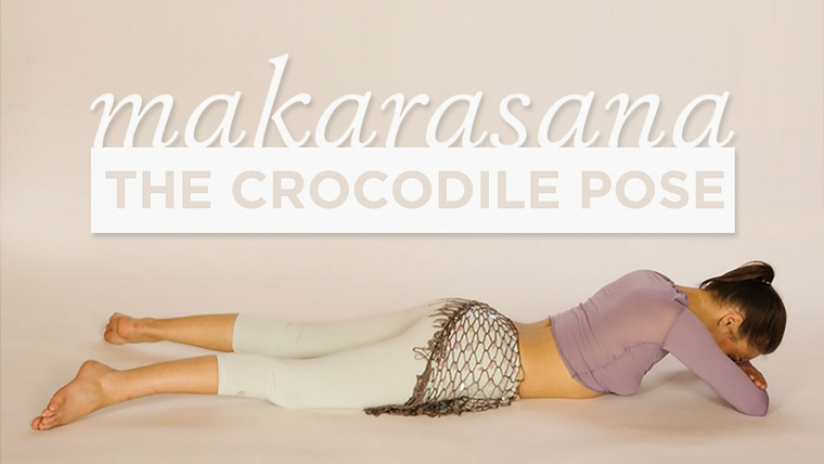 crocodile pose