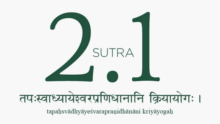 Yoga Sutra 2.1