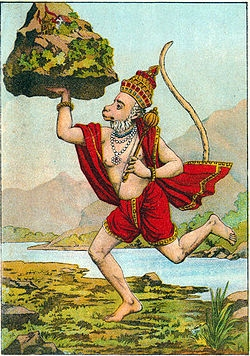 the mythology behind hanumanasana  yoga international